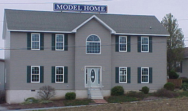 Muncy modular two story display home