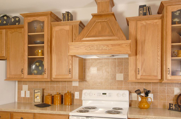 plans for wood range hood