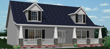 Cape cod style house floor plan