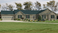 The Extended Family Modular Home Artist's Rendering
