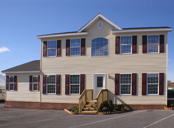 Pennwest providence model hs101 a two story modular home for Two story model homes