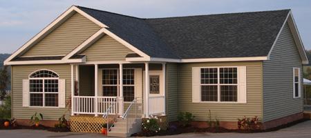 Artist S Rendering Of The Covington Ii Ranch Modular Home Pennwest Homes Model Hf116