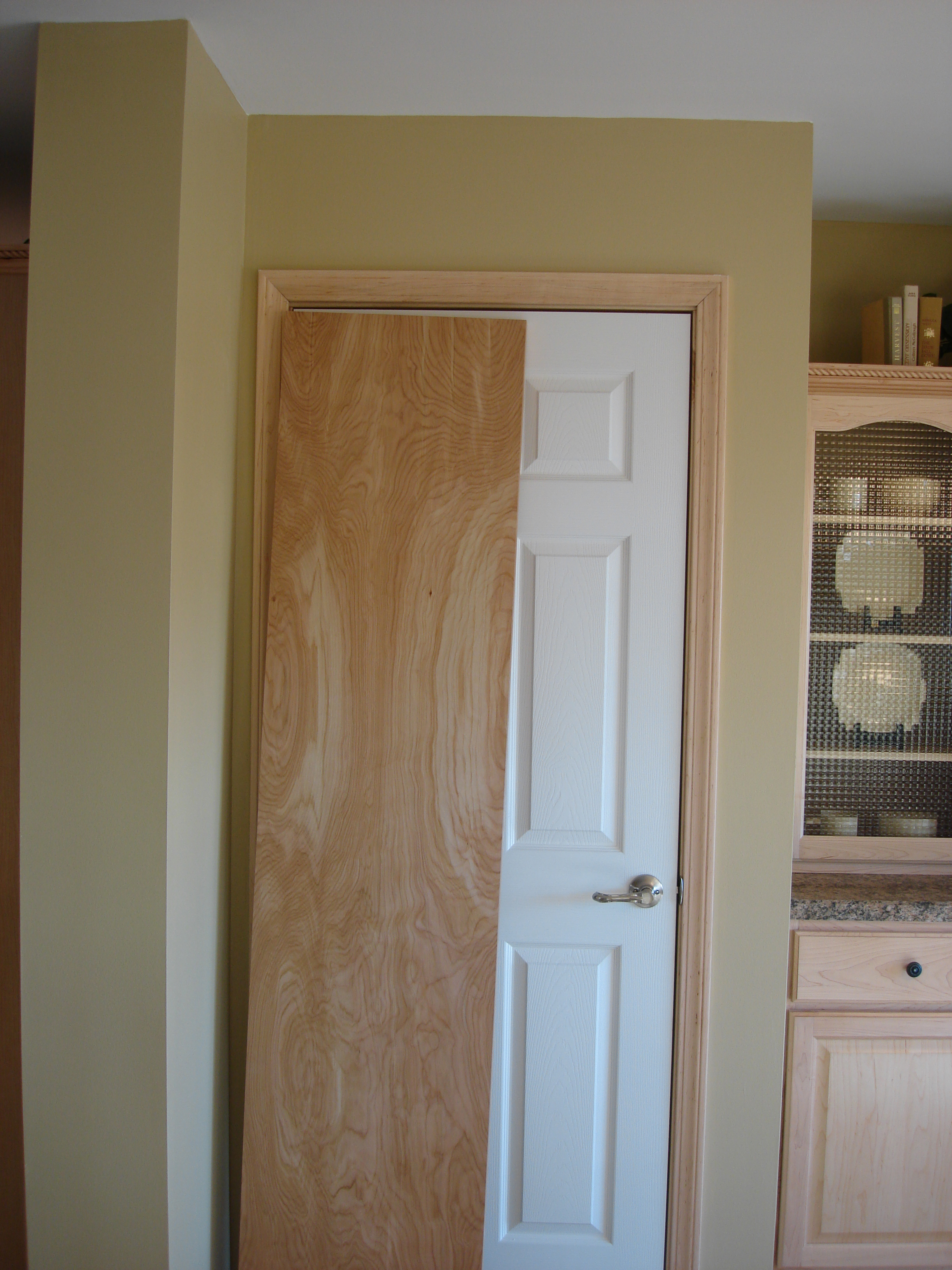 gallery of new ideas white interior doors with stained wood trim