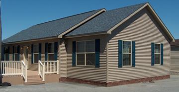 Pennwest Oakland Modular Home Exterior   Click For Details